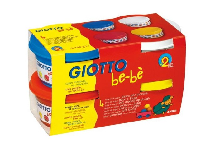 Модельная масса GIOTTO BE-BE Super Modelling Dough, 100г